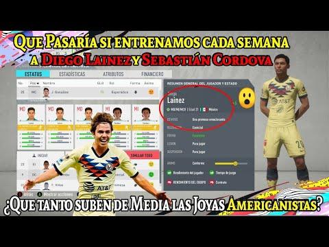 ¿Que Pasaría Si Entrenamos Cada Semana A Diego Lainez Y Sebastián Cordova? FIFA 20 Modo Carrera