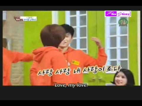 Eunjung T-Ara and Jongmin funny moments (ENG SUB)
