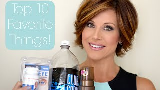 My Top 10 Current Favorite Products!