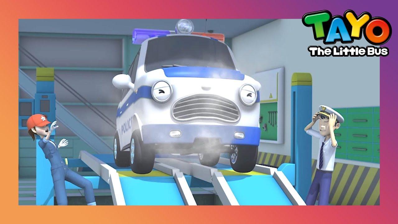 Tayo Phần đặc biệt l #95 Pat xe cảnh sát bị ốm l Phim hoạt hình cho trẻ em