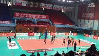 วอลเลย์บอลหญิงนัดกระชับมิตร ไทย vs จีน เซต 1