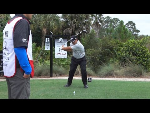 PATRICK REED 120fps FACE-ON SLOW MOTION DRIVER GOLF SWING 2015 TEMPLETON 1080p HD