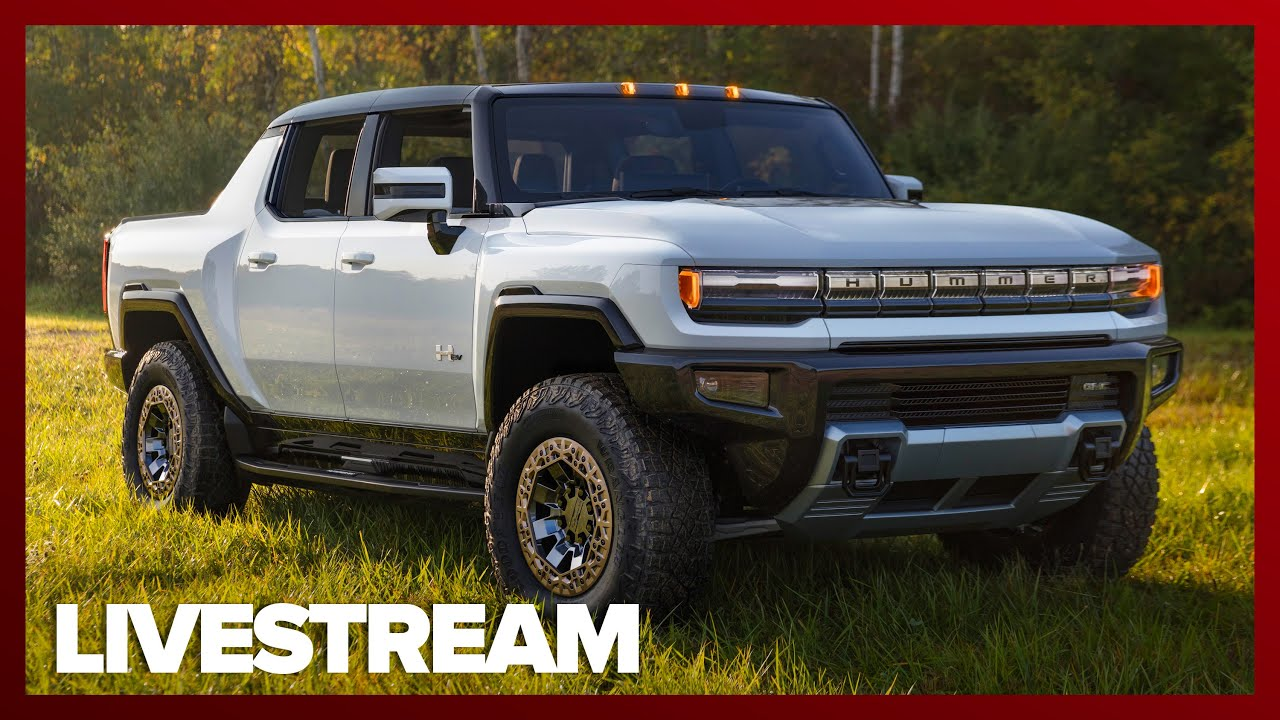 Watch the GMC Hummer EV reveal live, here