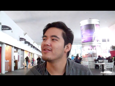 Walking Around Terminal 2 with Diego - Mexico City Airport