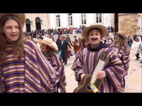 Desfile de Carnaval da Cáritas Diocesana de Coimbra na Baixa da nossa cidade