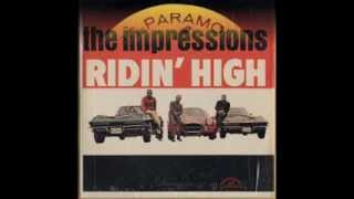 the impressions i m a tellin you little lp ridin high abcs paramount 545