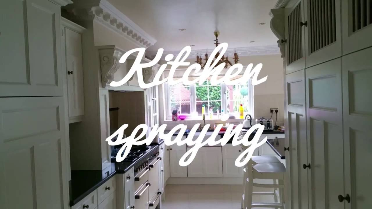Custom White Kitchens f&b james white kitchen - custom paint spray kitchen doors london