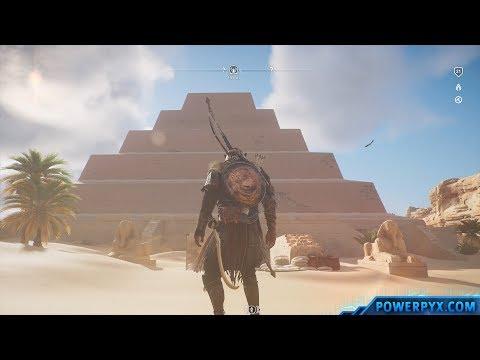 Assassin's Creed Origins - Tomb of Djoser Walkthrough & Location (Pyramid of Djoser Tomb)