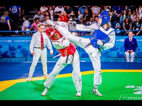Taekwondo Highlights (Best kicks)  - Youth Olympics games 2018 Buenos Aires -