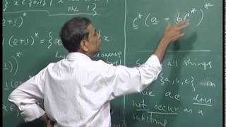 Mod-01 Lec-11 Regular expressions, they denote regular languages.