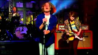 Cage the Elephant - Around My Head (Live on David Letterman) (HD)
