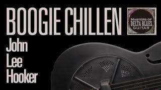John Lee Hooker Boogie Chillun Acoustic Blues Lesson W/ Tab