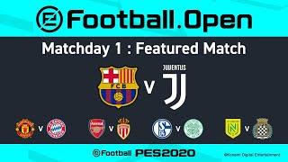 Esports | Barcelona V Juventus 🎮 | Pes 2020 Efootball.pro League ⚽