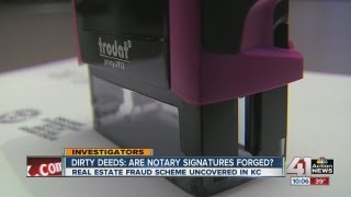 Dirty deeds: Are notary signatures fake?