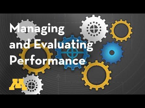 Supervisory Development: Managing and Evaluating Performance Webinar