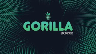 Gorilla Logo Pack | Photoshop Logo Pack | Free Download [2020]