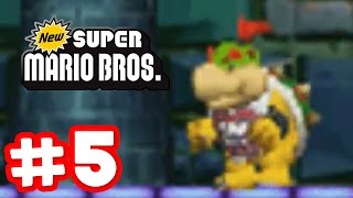 Repeat youtube video New Super Mario Bros. DS - Part 5 - Bowser Jr. Strikes Back!