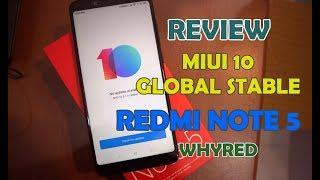 Sedikit Review MIUI 10 Global Stable Redmi Note 5, SOT Tembus 11 Jam Heran Juga