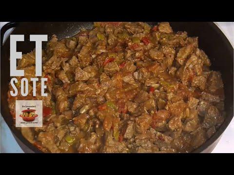 Et sote nasıl yapılır - Et yemeği tarifi - Ev Lezzetleri