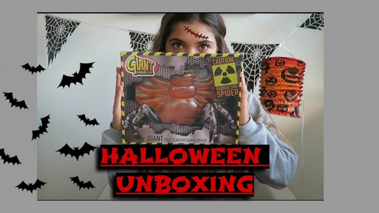 Halloween Jamin.Unboxing Halloween Candy Jamin Imaani Noelle Vlog 48