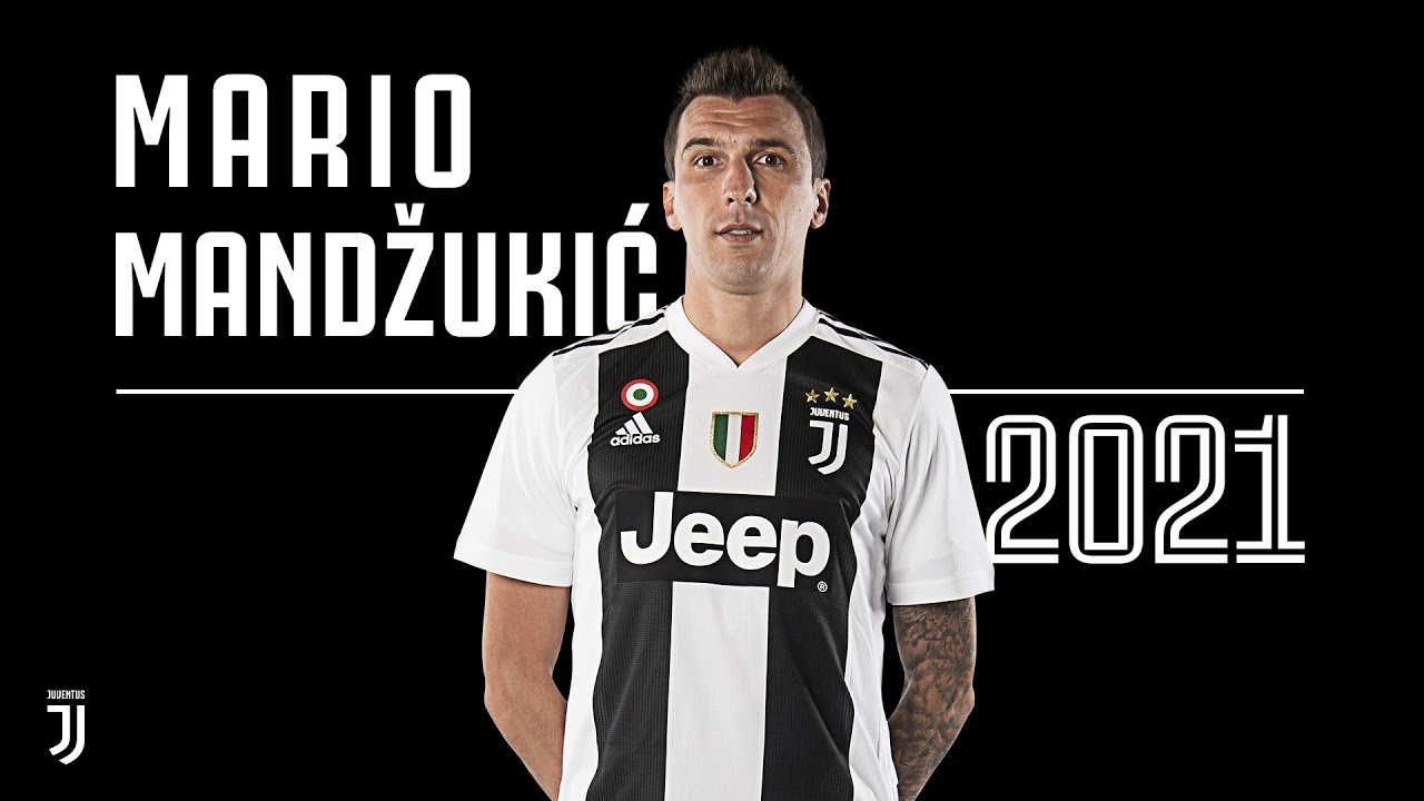 newest collection 1511a 18a52 Mario Mandzukic extends Juventus contract until 2021!