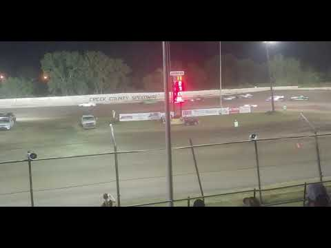 Creek County Speedway 9/14/19 Mini Stock A Feature