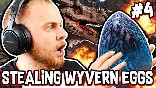 Ark: Ragnarok! - STEALING WYVERN EGGS!! [#4] |Ragnarok Gameplay|