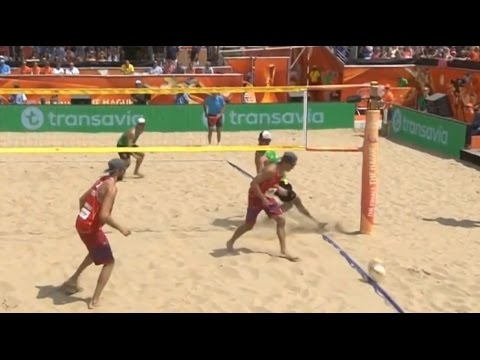 Beach Volley - Funny point by Alison Cerutti