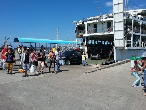 My ship comes in!  Lite Ferry arrives in San Carlos~ Philippines tourism~ My Motorcycle Adventres