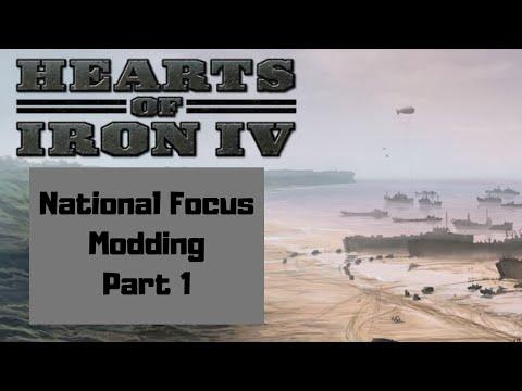 HOI4 National Focus Tree Modding - YouTube