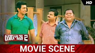 নতুন ছবি শুরু | Dev | Puja | Kharaj | Challenge 2 | Movie Scene | SVF