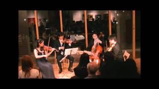 ラズモフスキー第1番 第2楽章より クァルテット・ヒムヌスの演奏 ヴァ...