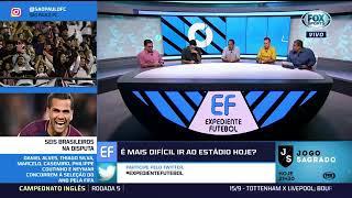 EDMUNDO GRITA COM PVC AO VIVO E MESA SE CONSTRANGE! EXPEDIENTE FOX FLAMENGO X CORINTHIANS 10/09