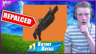 Will the Tactical shotgun get replaced by the HEAVY shotgun? (Fortnite Battle Royale)