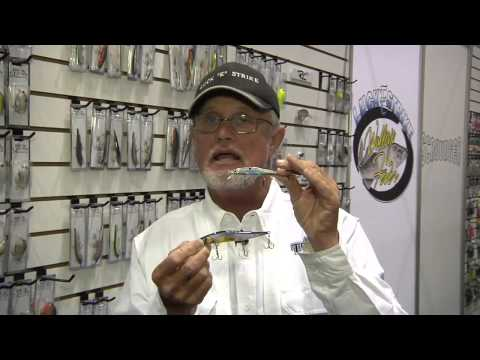 Luck-E-Strike RC STX Jr. Jerkbaits With Rick Clunn ICAST 2012