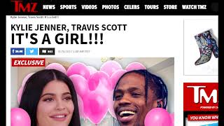 Kylie jenner pregnant with baby girl