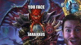 gul dan saqueasangre y jaraxxus mazo caballero de la muerte de brujo   hearthstone