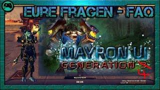 MayronUI Gen4 | FAQ - Eure Fragen | Update 6.1 World of Warcraft Interface [deutsch/german]