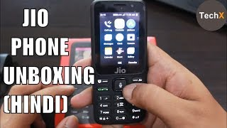 jio phone: unboxing and review in hindi
