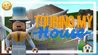 Touring My Bloxburg House | | Roblox