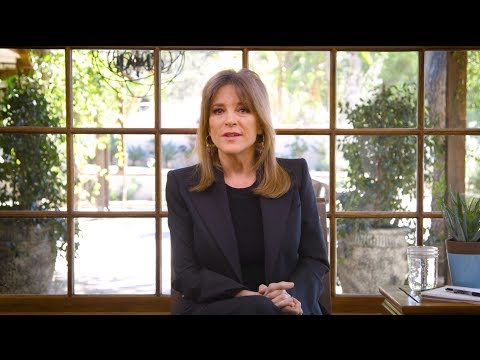 An Announcement From Marianne Williamson