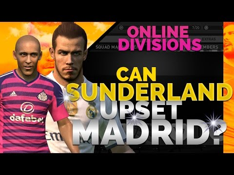 TTB Online] - PES 2017 Online Divisions - Can Sunderland Upset Real