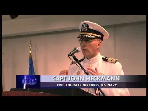 NAVFAC Marianas Change of Command Ceremony