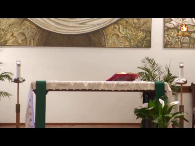 Sunday Mass - Holy Spirit Catholic Church