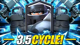IMPOSSIBLE TO STOP THIS!! Mega Knight + Mini Pekka Cycle is BROKEN!! Clash Royale Mega Knight Deck