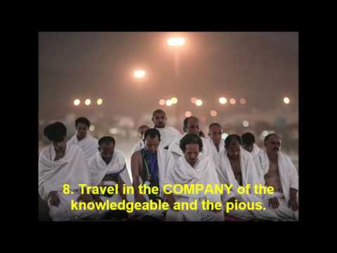 13 Tips for Acceptable Hajj