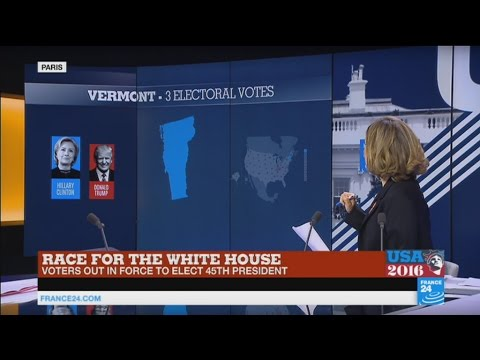 US Presidential elections: Donald Trump wins Kentucky, Hillary Clinton takes Vermont