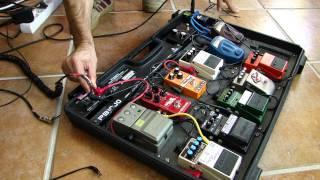 Behringer PB1000 pedalboard case