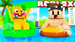 DO WE HAVE THE SWIMMING IN ROBLOX?