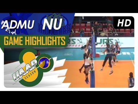 UAAP 80 WV: ADMU vs. NU | Game Highlights | February 7, 2018